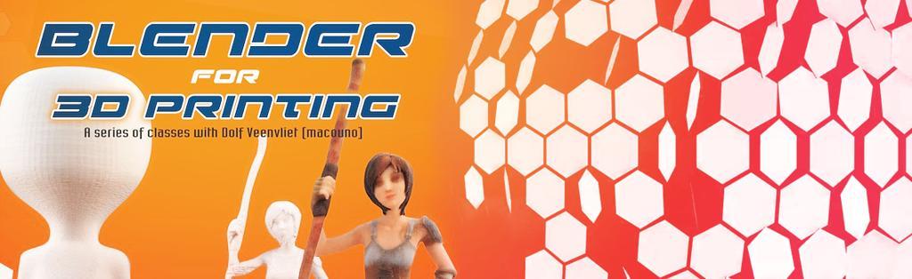 Blender for 3D Printing