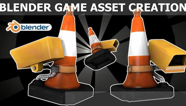 Blender Game Asset Creation